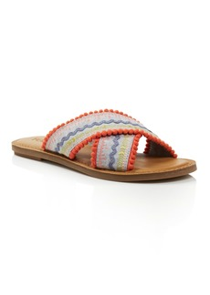 TOMS Shoes TOMS Women's Viv Woven Slide Sandals - 100% Exclusive