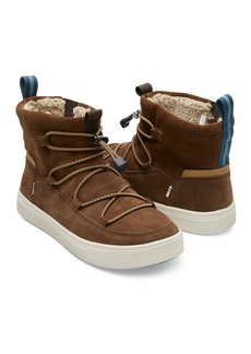 TOMS Shoes Travel Lite Alpine Water Resistant Faux Shearling Lined Boot