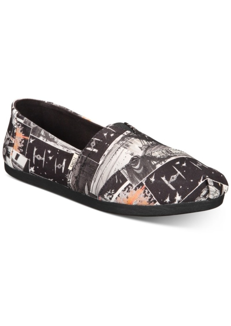 TOMS Shoes Women's Star Wars Alpargata Slip-On Flats from Toms Women's Shoes