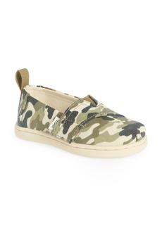 Toddler Girl's Toms Alpargata Slip-On Sneaker