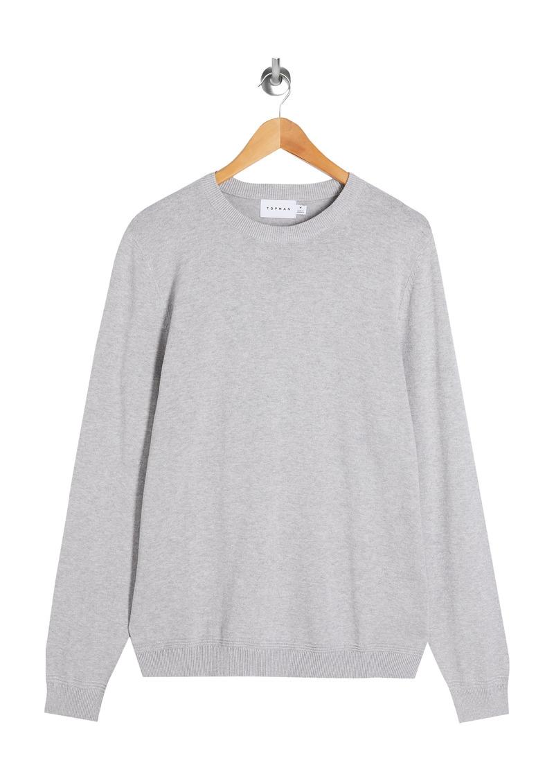 Men's Topman Essential Twist Crewneck Sweater
