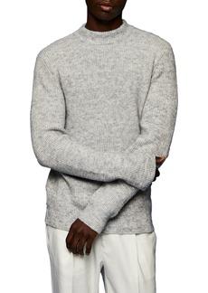Men's Topman Mock Neck Sweater