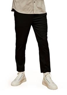 Men's Topman Slim Fit Crop Drawstring Pants