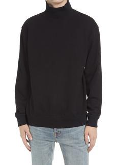 Men's Topman Solid Cotton Turtleneck Sweater