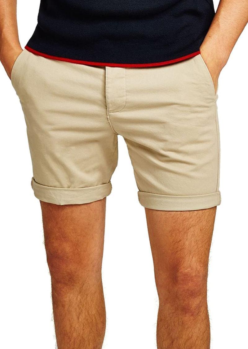 Topman Skinny Fit Chino Shorts