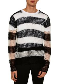 Topman Stripe Classic Fit Sweater