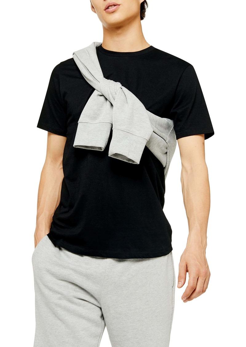 Topman 2-Pack Classic Fit Crewneck T-Shirts