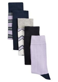 Topman 5-Pack Assorted Socks