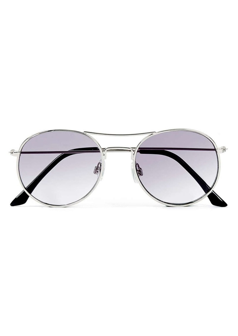 Topman 50mm Aviator Sunglasses