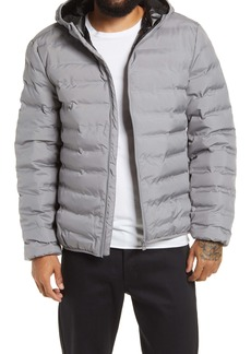 Topman Alien Men's Hooded Puffer Jacket