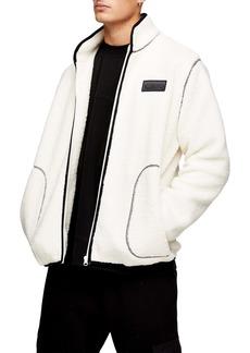 Topman Archie Tape Borg Fleece Jacket
