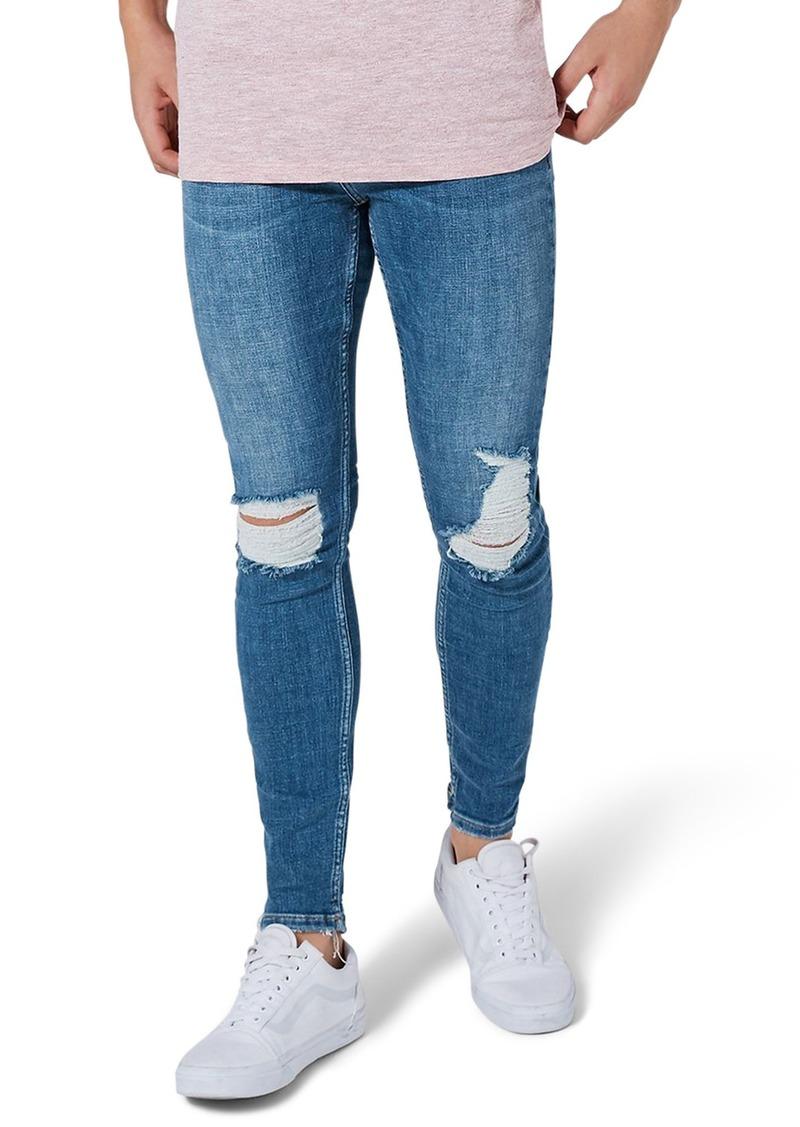 ce42dfed43 Topman Topman Arthur Ripped Stretch Skinny Jeans | Jeans