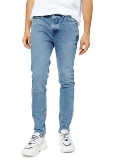 Topman Authentic Bleach Skinny Jeans