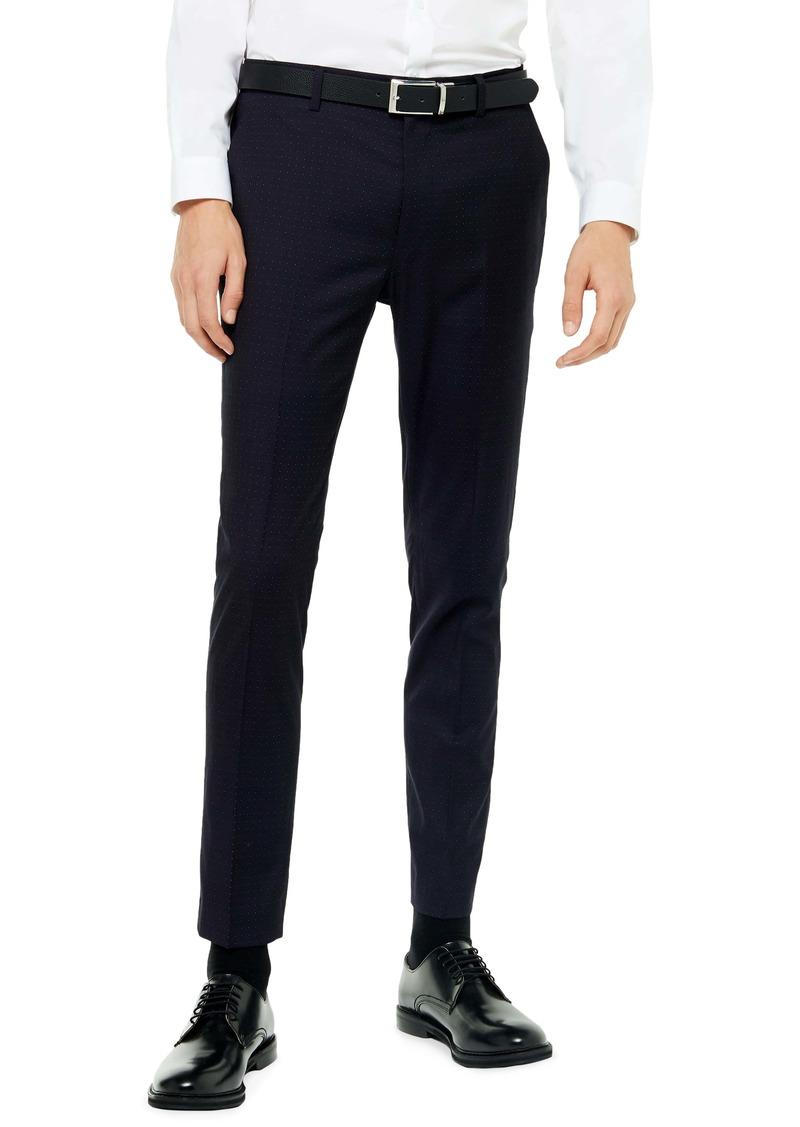Topman Bellamy Slim Fit Crop Pants