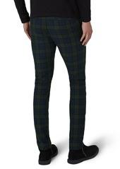 3bddb4ba56 Topman Topman Black Watch Check Stretch Skinny Fit Trousers | Casual ...