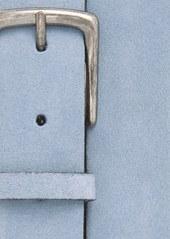 Topman Blue Suede Belt