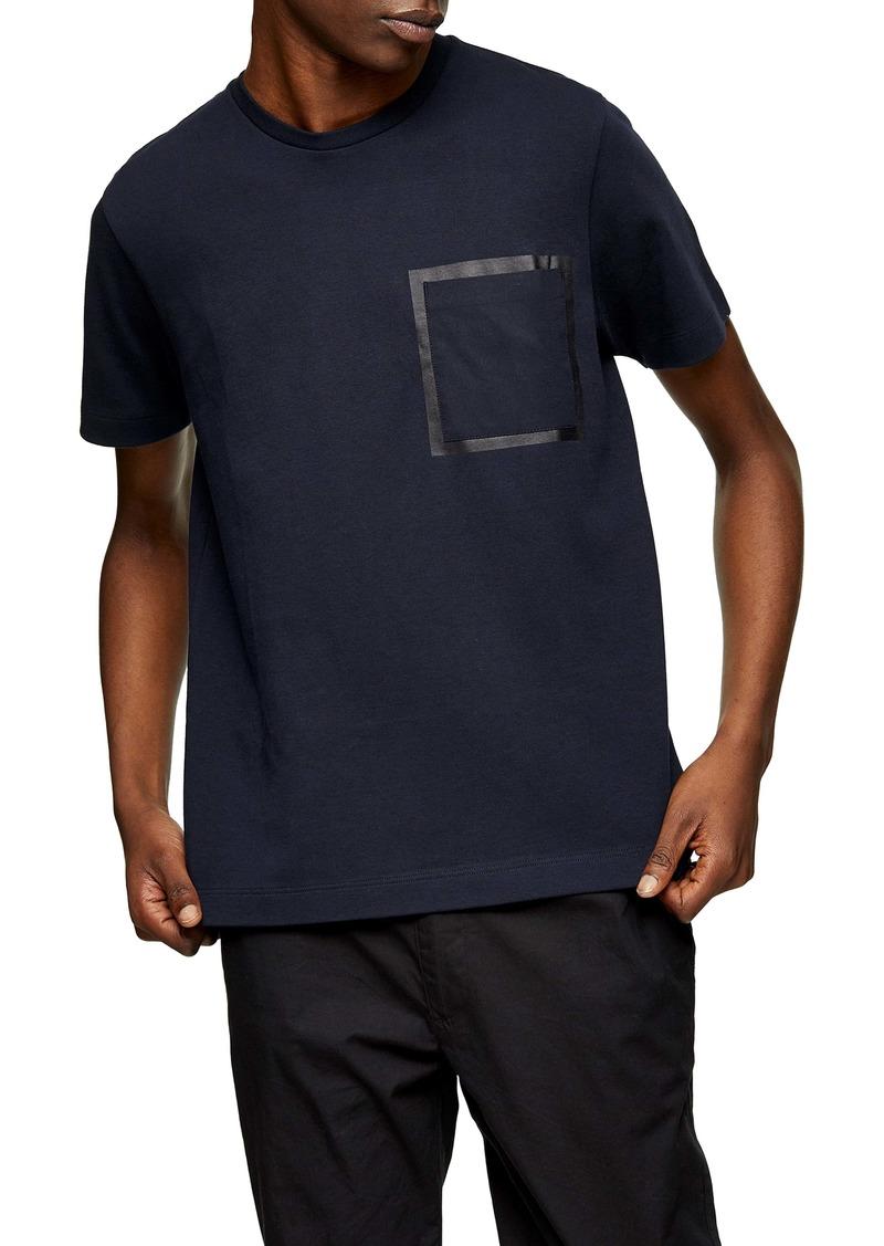 Topman Bonded Pocket T-Shirt