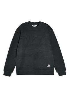 Topman Borg Classic Fleece Crew Sweatshirt