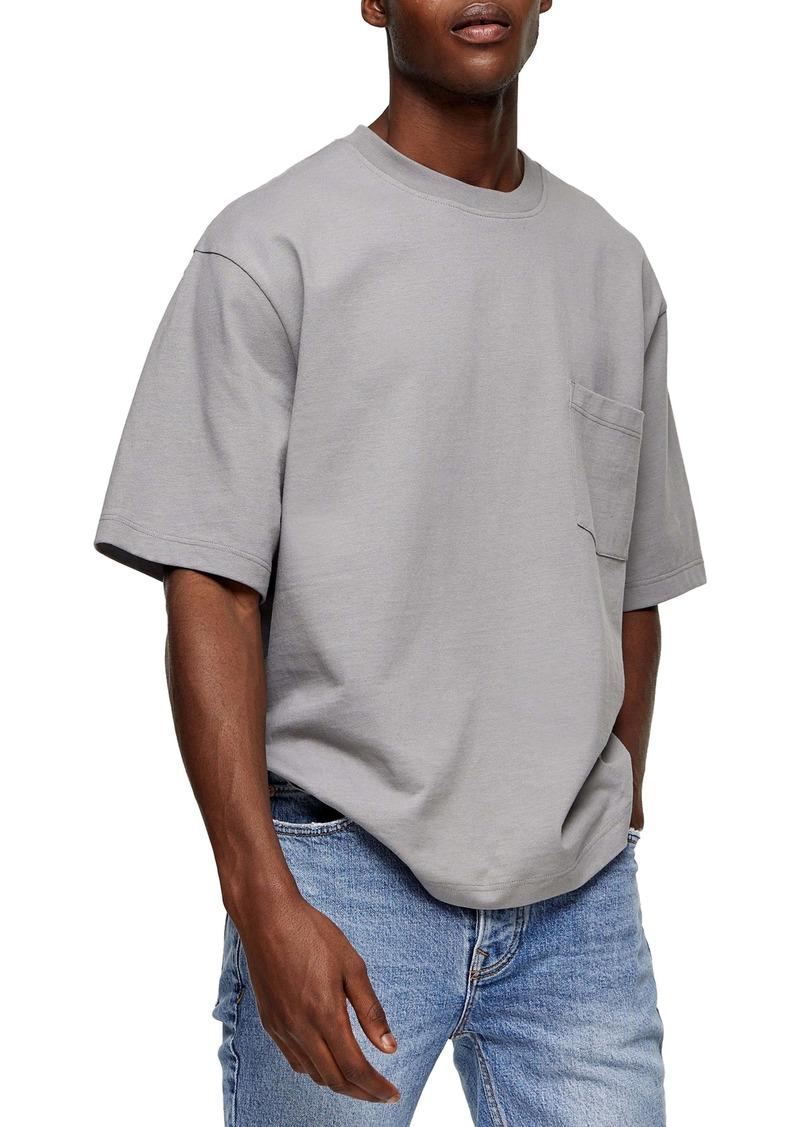 Topman Boxy Pocket T-Shirt