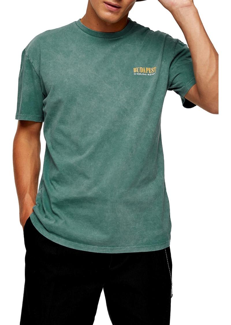 Topman Budapest Oversize T-Shirt