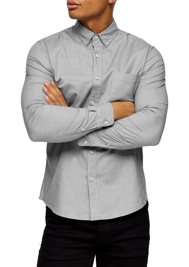 Topman Button-Down Oxford Shirt