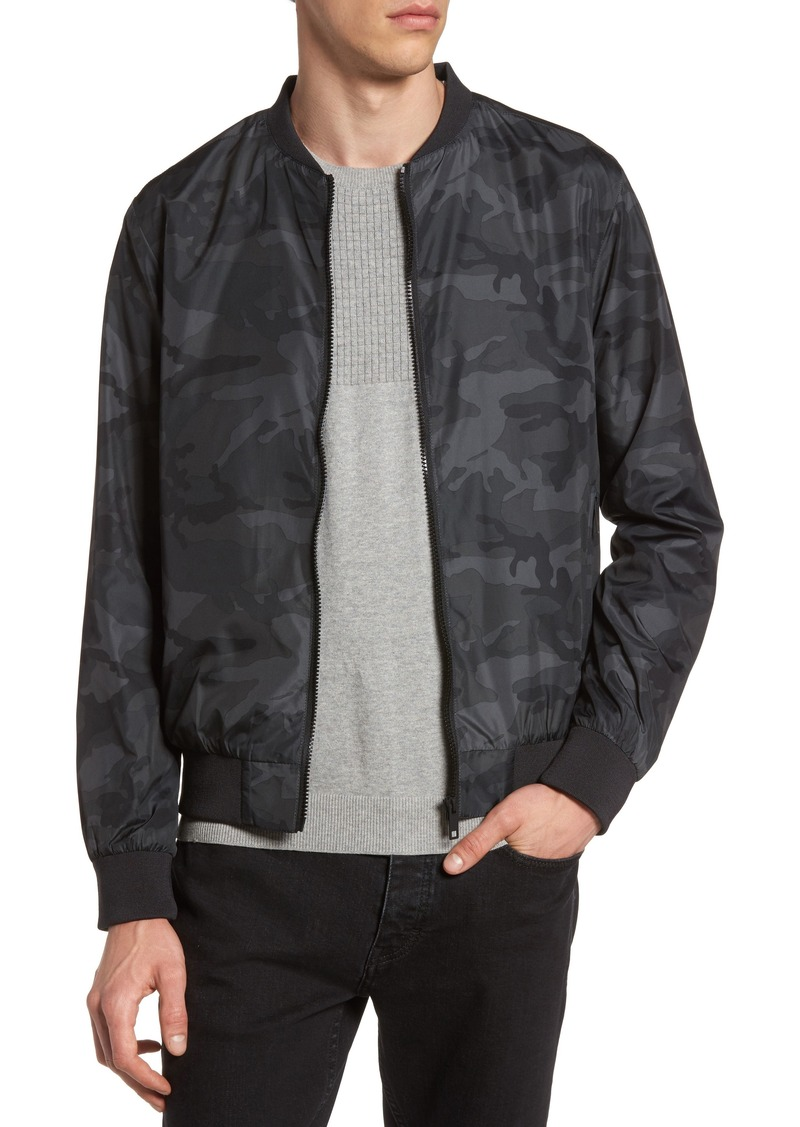 a7933585d Camo Print Bomber Jacket