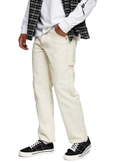 Topman Carpenter Wide Leg Jeans
