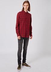 Topman Check Flannel Shirt
