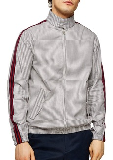 Topman Check Harrington Jacket