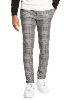 Topman Check Skinny Fit Pants