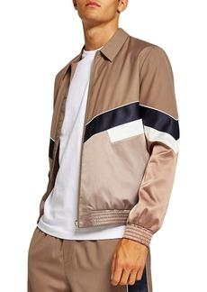 Topman Chevron Track Jacket