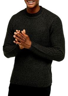 Topman Chunky Crewneck Sweater
