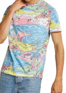 Topman Classic Fit Beach Shirt