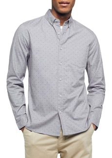 Topman Classic Fit Button-Down Oxford Shirt