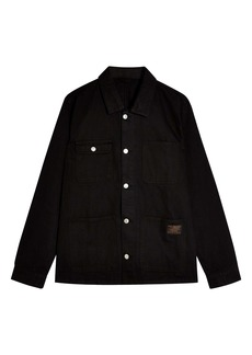Topman Classic Fit Denim Chore Jacket