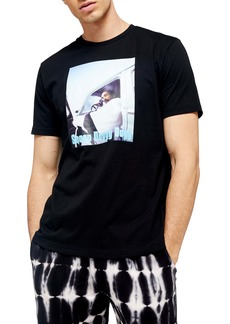 Topman Classic Fit Snoop Dogg T-Shirt