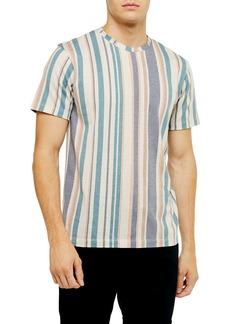Topman Classic Fit Stripe T-Shirt
