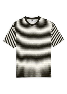 Topman Classic Fit Stripe Terry T-Shirt