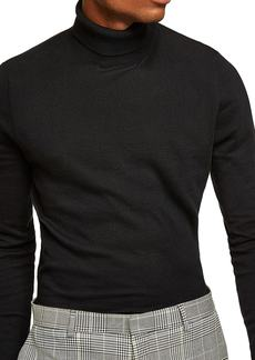 Topman Classic Fit Turtleneck Sweater