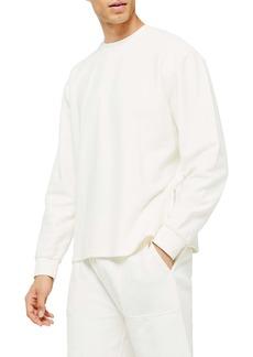 Topman Classic Fit Twill Sweatshirt
