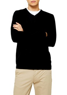 Topman Classic Fit V-Neck Sweater