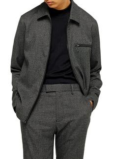 Topman Classic Fit Zip Jacket