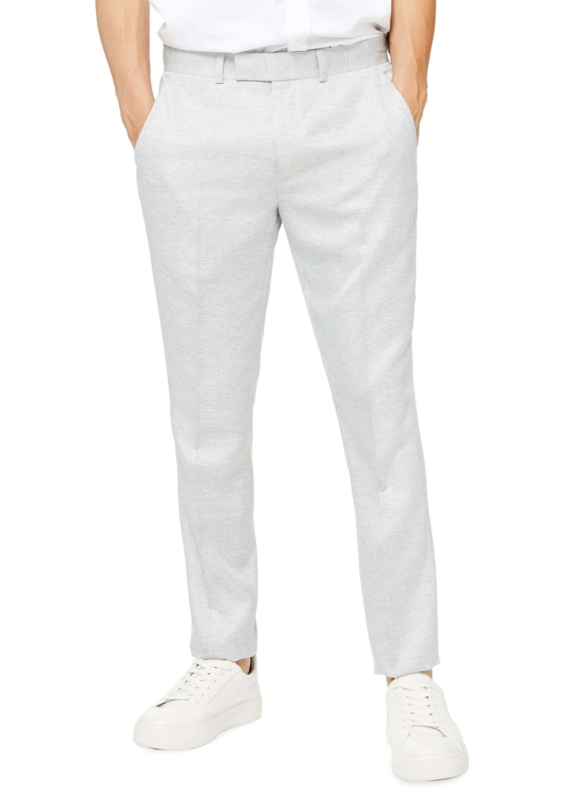 Topman Clay Skinny Suit Dress Pants