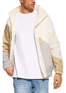 Topman Colorblock Nylon Jacket