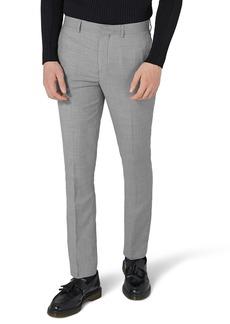 Topman Como Skinny Fit Grey Suit Pants