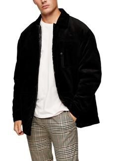Topman Corduroy Shirt Jacket