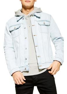 Topman Core Classic Fit Denim Trucker Jacket