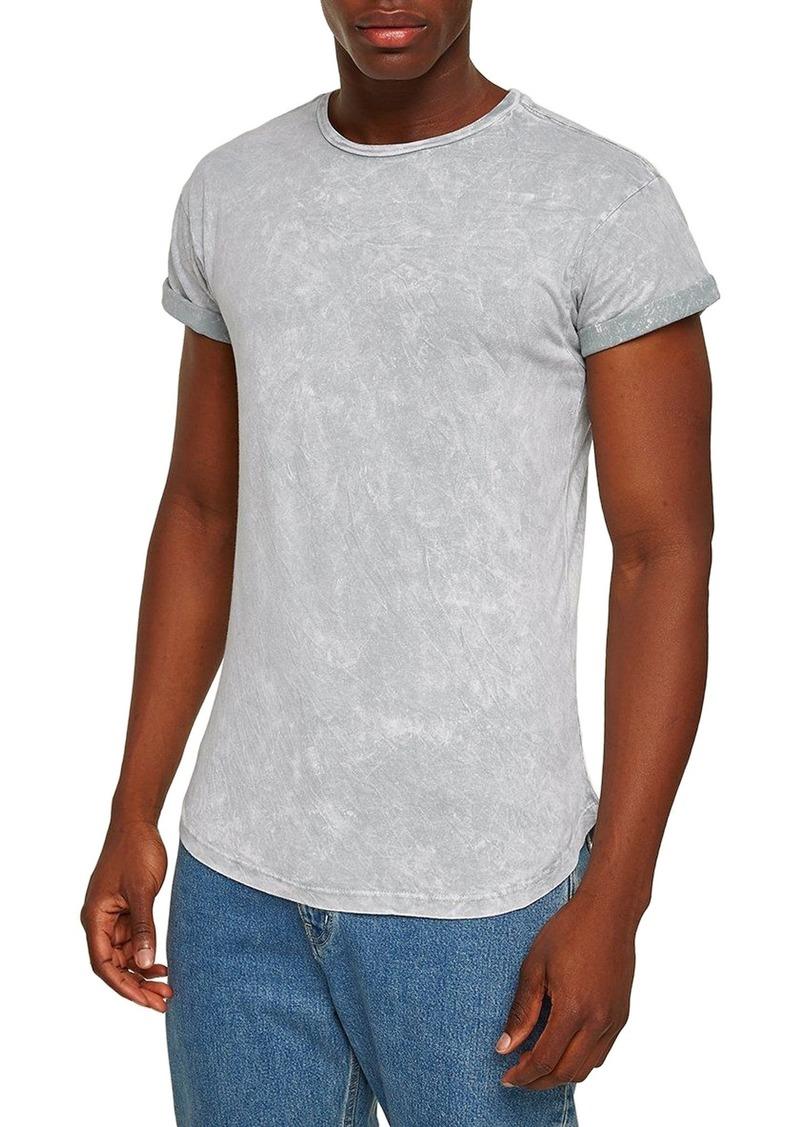 e6360262784f2 Topman Topman Crinkle Marble T-Shirt