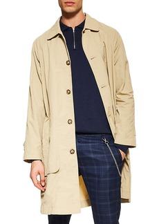 Topman Crinkle Nylon Mac Jacket