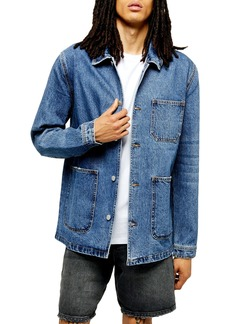 Topman Denim Chore Jacket